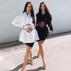Sexy, trendy Belted Shirt Dress (Belt Included)